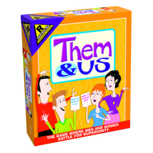 Them & Us Couples Party Game