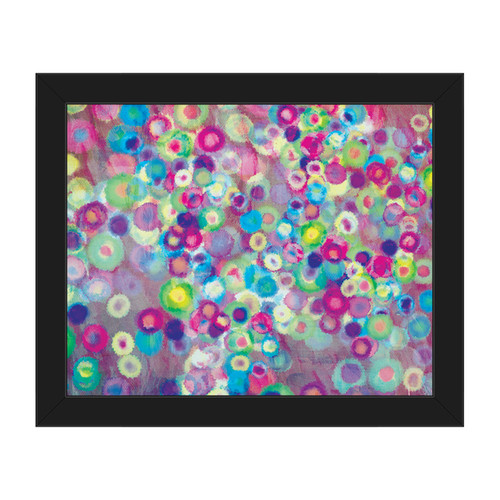 Blooming Bokeh Framed Canvas Wall Art [option : Blooming Bokeh 11
