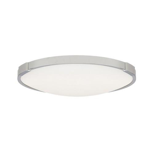 Lance Ceiling Light [Lamp Type : LED 2700K 120V; Finish : Chrome; Diameter : Small: 13 in diameter]