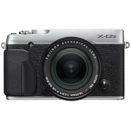 Fujifilm X-E2S Mirrorless with 18-55mm OIS Lens, Silver 16499215