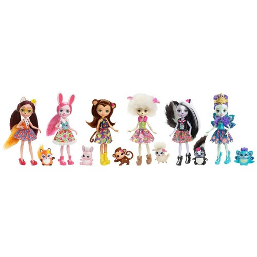 Enchantimals Collection Dolls - 6-Pack