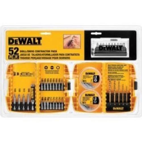 DRILL/DRIVR BIT SET 52PC by DEWALT MfrPartNo DW2178-5
