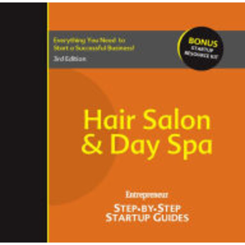 Hair Salon and Day Spa: Step-by-Step Startup Guide