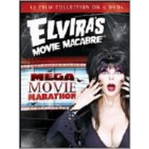 Elvira's Movie Macabre: Mega Movie Marathon [6 Discs] [DVD]