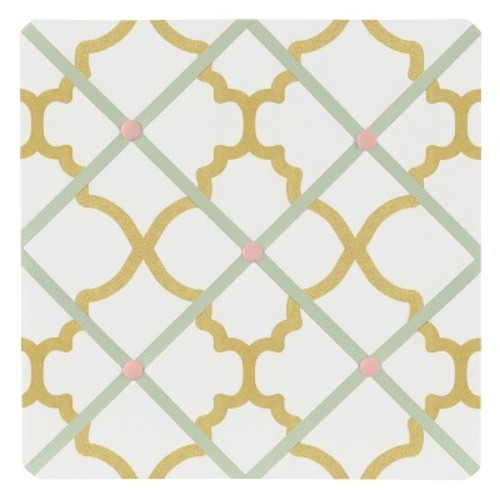 Sweet Jojo Designs Fabric Memo Board - Ava
