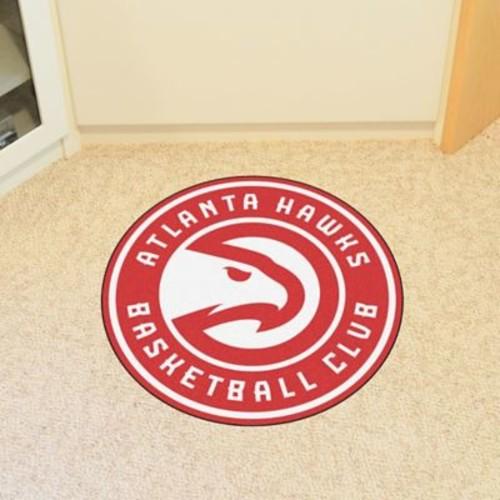 FANMATS NBA Atlanta Hawks Roundel Mat