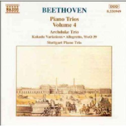 Nina Tichman - Beethoven: Piano Trios