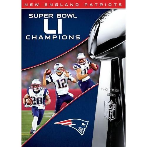 NFL: Super Bowl LI Champions - New England Patriots [DVD] [2017]