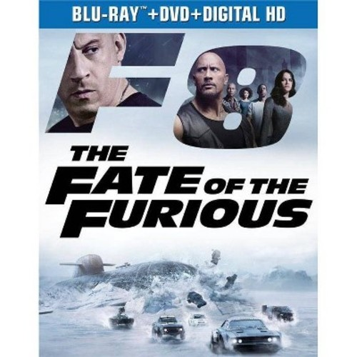 The Fate of the Furious [Blu-Ray] [DVD] [Digital HD]