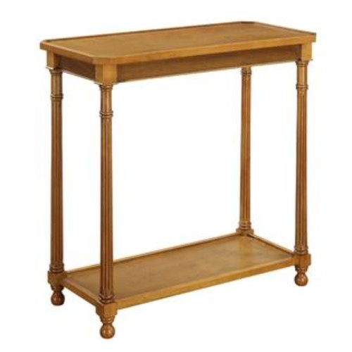 Convenience Concepts, Inc. Convenience Concepts American Heritage Carrington Walnut Wood Hall Table