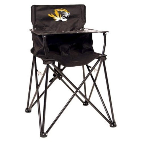 ciao! baby Missouri Tigers Portable Highchair in Black