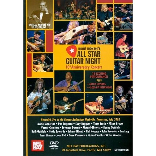 Muriel Anderson's All Star Guitar Night: 10th Anniversary Concert [DVD] [2002]