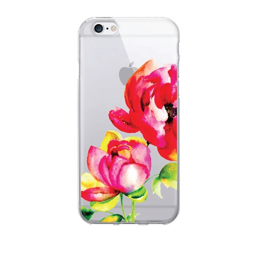 Brilliant Bloom Clear Phone Case - iPhone 6/6s/7/7s