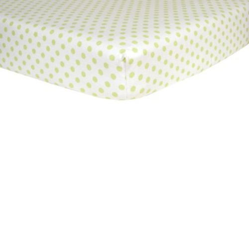 Trend Lab Dot Flannel Crib Fitted Sheet