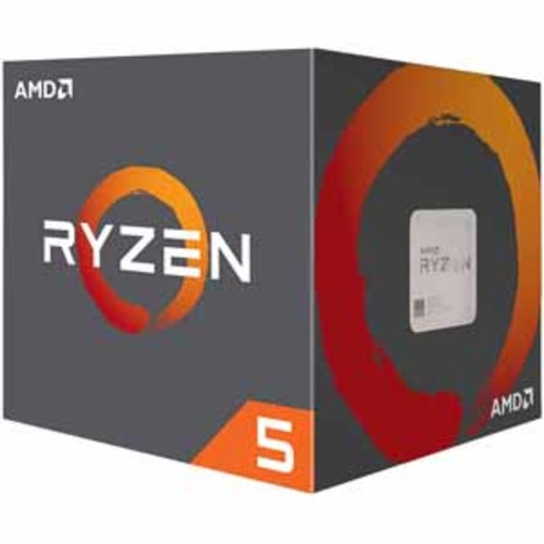 AMD Ryzen 5 1500X Processor 4 Cores / 8 Threads 18MB Cache 3.7 GHz Precision Boost with Wraith Spire Cooler AM4