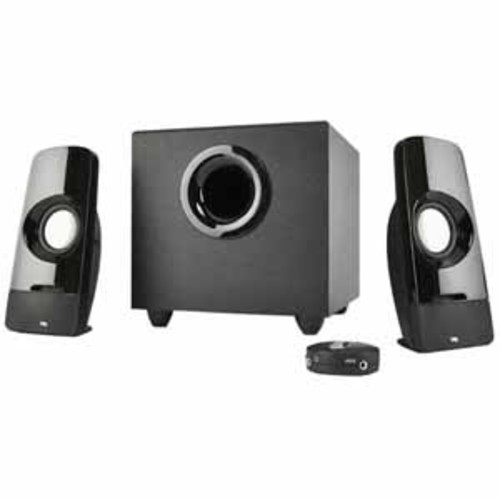 Cyber Acoustics Curve.Blast 8 Watts RMS Speaker System with Control Pod