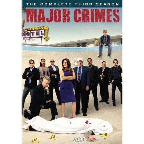 Major Crimes: The Complete Third Season [4 Discs] [DVD]