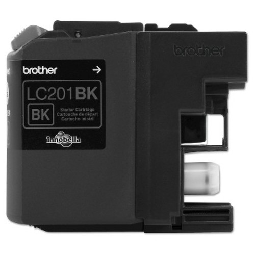 Brother LC201BK BLACK INK CARTRIDGE (BRTLC201BK)