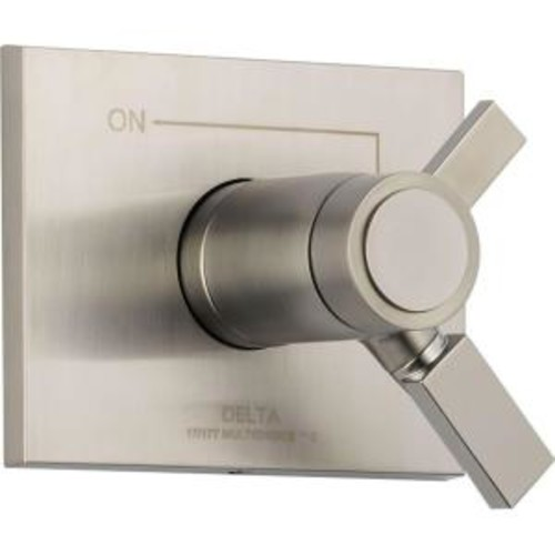 Delta Vero TempAssure 17T Series 1-Handle Volume and Temperature Control Valve Trim Kit Only in Stainless (Valve Not Included)
