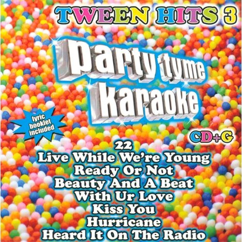 Party Tyme Karaoke: Tween Hits, Vol. 3 [CD + G]