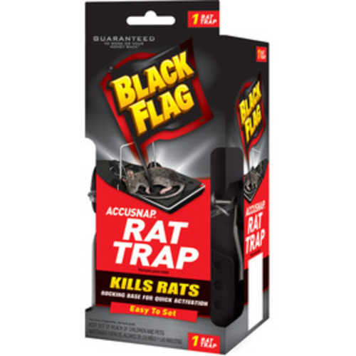 BLACK FLAG Indoor Rodent Trap for Rats