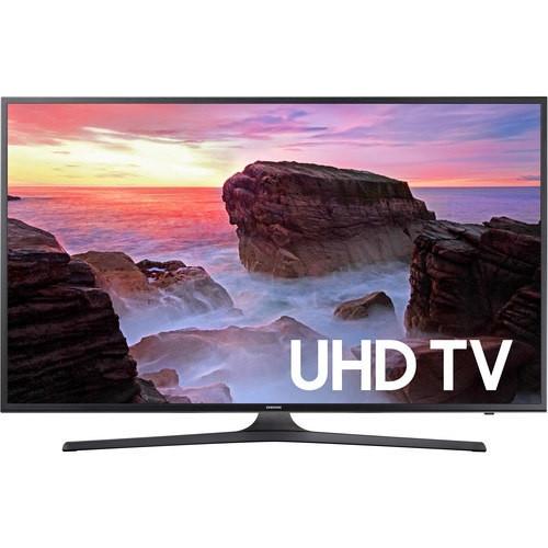 Samsung UN75MU6300FXZA 75-inch Class MU6300 6-Series Flat UHD LED Smart TV w/ 3 HDMI Inputs & 2 USB