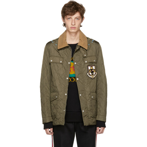 GUCCI Green Ufo Parachute Jacket
