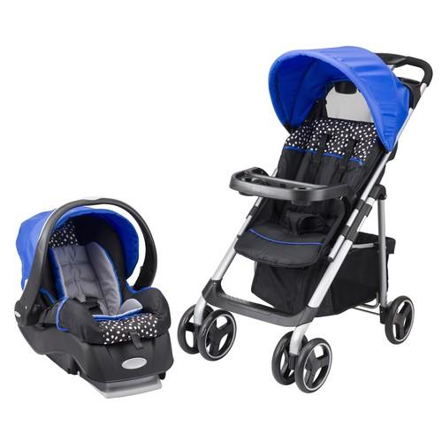 Evenflo Vive Hayden Dots Infant Travel System