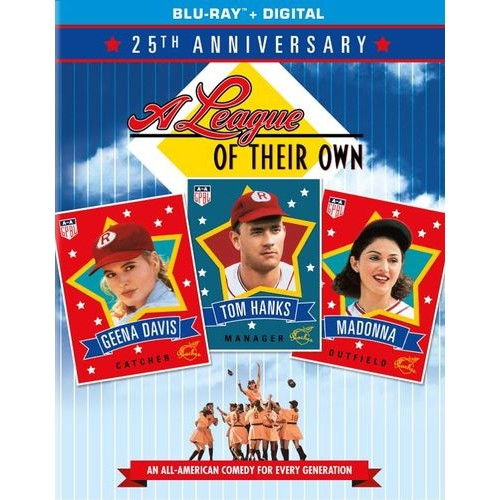 A League of Their Own [25th Anniversary Edition] [Blu-ray] [1992]
