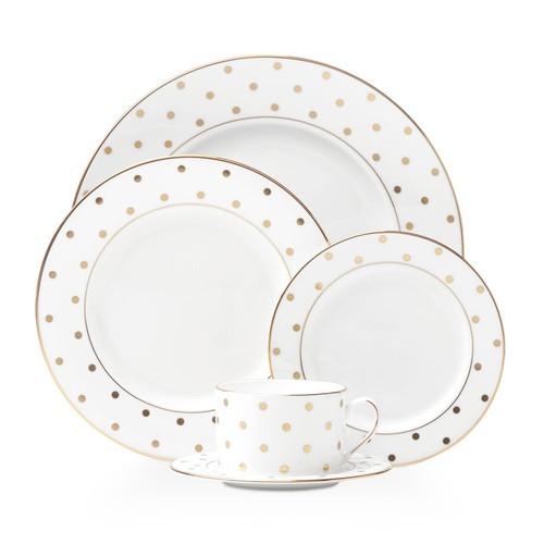 Larabee Road Gold 5-Piece Place Setting