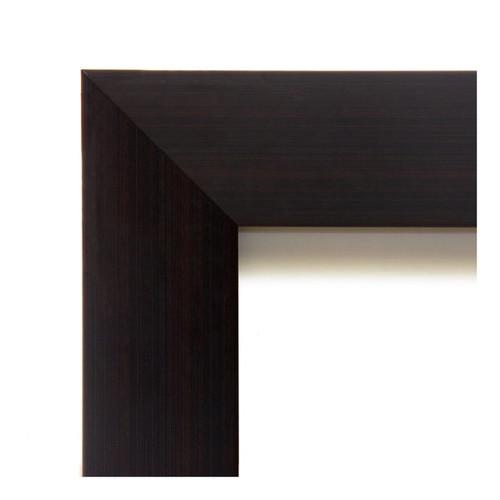 Framed Magnetic Board Choose Your Custom Size, Portico Espresso Wood [option : 14 x 14-inch]