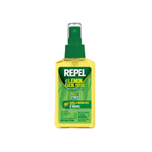 REPEL Lemon Eucalyptus Insect Repellent Spray, 4 oz.