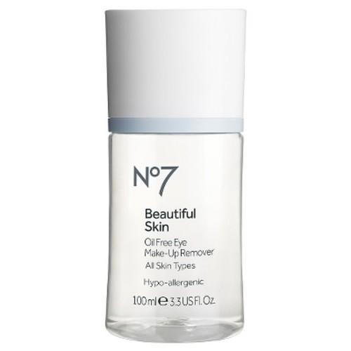 No7 Beautiful Skin Oil Free Eye Make-up Remover - 3.38 oz