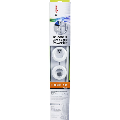 Legrand - In-Wall Power Kit - White