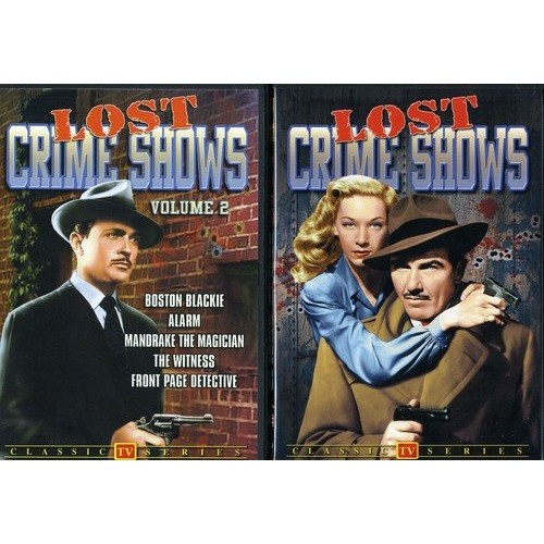 Lost Crime Shows: Volumes 1-2
