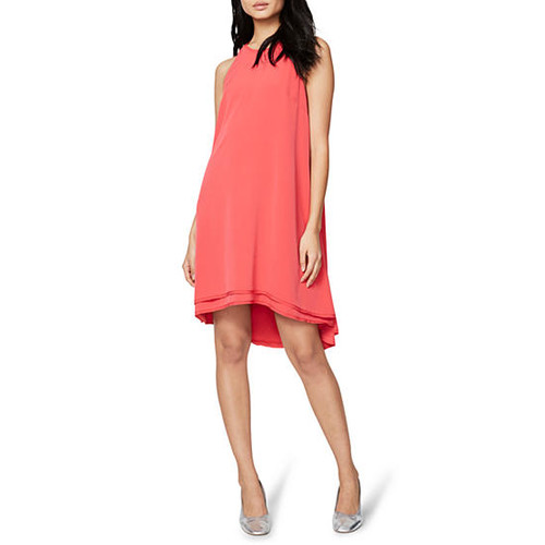 RACHEL Rachel Roy Double Layer High Neck Dress
