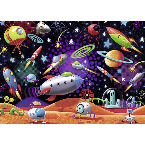 Ravensburger Jigsaw Puzzle 35-Piece - Space