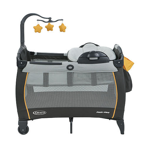 Graco Pack 'n Play Playard With Portable Napper & Changing Table - Sunshine