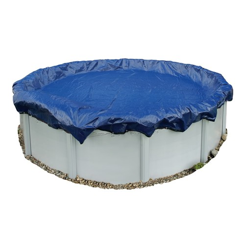 Blue Wave 15-Year Round Above Ground Pool Winter Cover In Assorted Sizes [Overall Dimensions : 28 Dia. ft.]