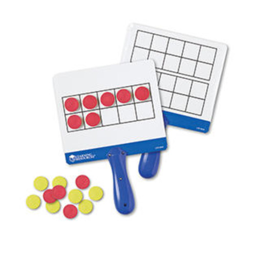 Learning Resources LER6645 Magnetic Ten Frame Answer Boards