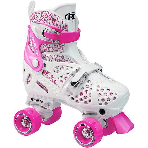 Roller Derby Girls' Trac Star Adjustable Roller Skates
