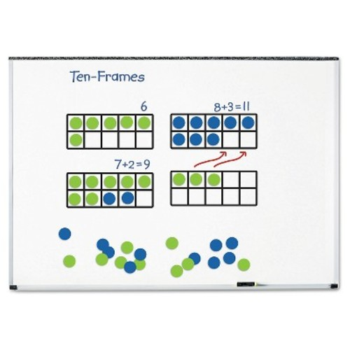 Learning Resources Giant Magnetic Ten-Frame Set, 12 1/4\