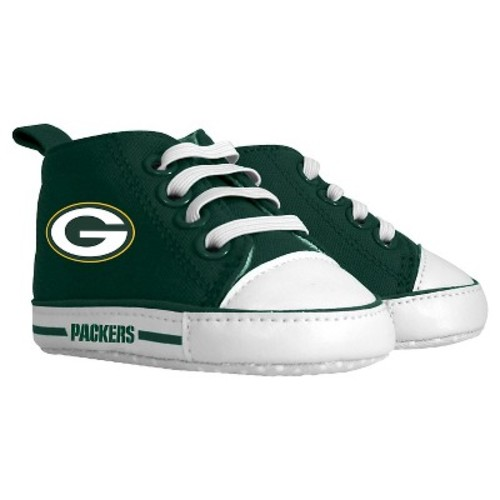 Green Bay Packers Baby Fanatic Pre-Walkers High Top