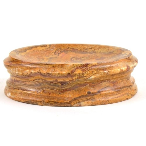 Nature Home Decor Bengal Collection Multi Brown Onyx Soap Dish