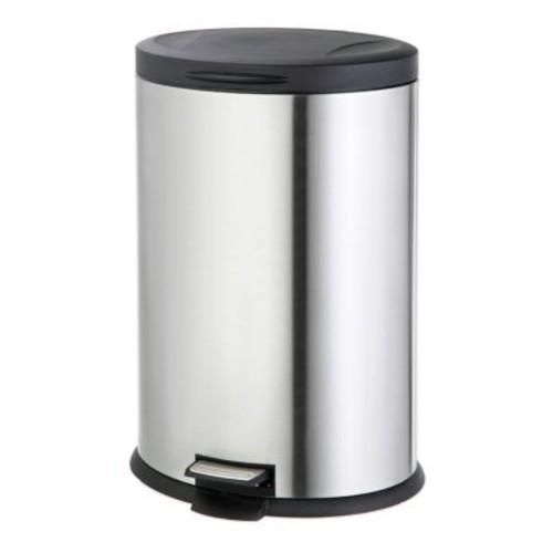 SALT Stainless Steel Oval 40-Liter Step Trash Can