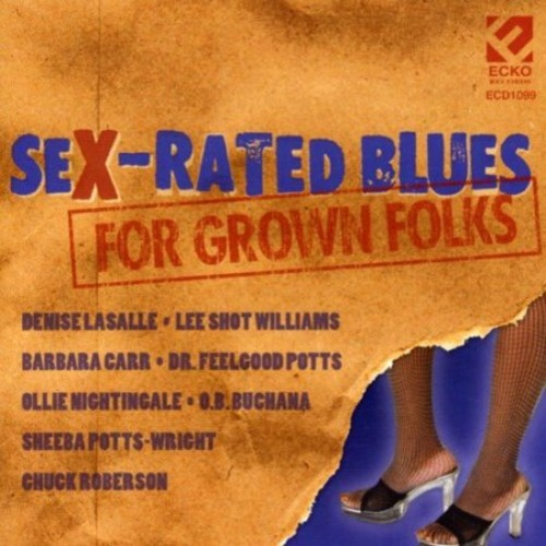 Sex-Rated Blues [CD]