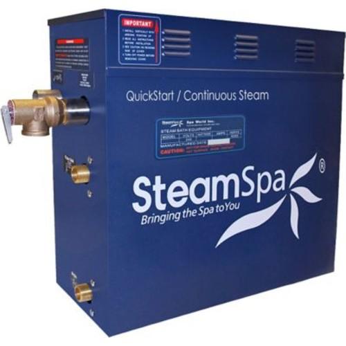 Steam Spa Oasis 7.5 kW QuickStart Steam Bath Generator Package; Oil Rubbed Bronze
