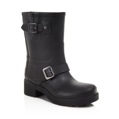 HUNTER Original Rubber Biker Rain Boots
