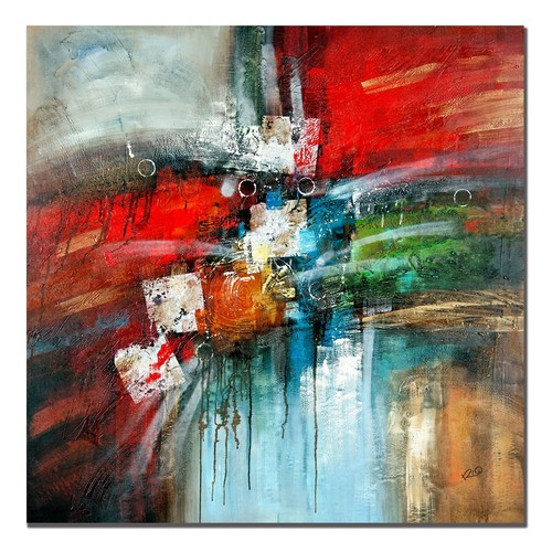 24'' x 24'' ''Cube Abstract IV'' Canvas Wall Art