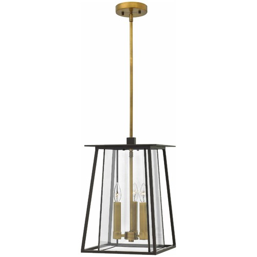 Walker Outdoor Pendant [Finish : Buckeye Bronze; Light Option : Incandescent]